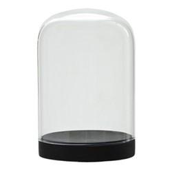 Pleasure Dome Large display case, H33 x W18cm, black