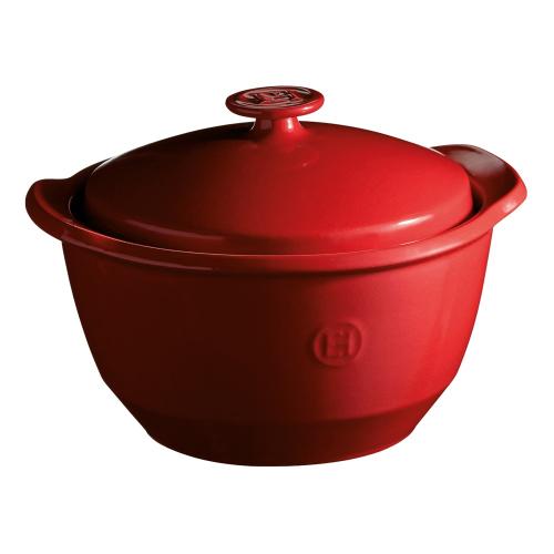 One-pot casserole, 25 x 23 x 17cm - 2.0 Litre, Burgundy