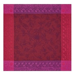 Symphonie Baroque Set of 4 napkins, 58 x 58cm, maroon