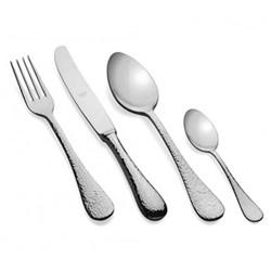 Epoque 24 piece cutlery set, mirrored stainless steel