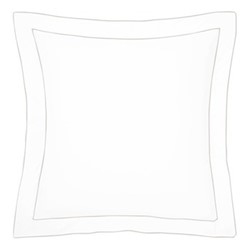 Flandre Square pillowcase, 65 x 65cm, pierre
