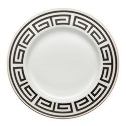 Labirinto Plate, 28cm, nero