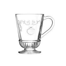 Versailles Set of 6 mugs, 27.5 cl, clear