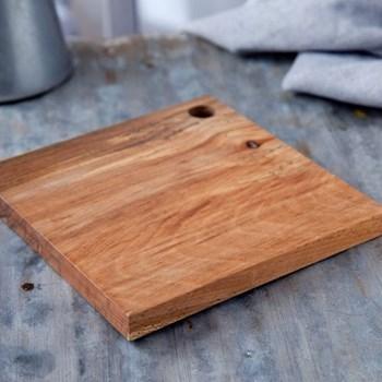 Square beech board, 29cm
