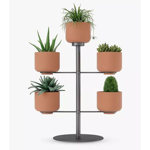 Terrapotta Planter, H38 x W29 x D29cm, Titanium