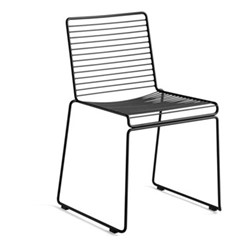 Hee Dining chair, W47.5 x D50 x H79cm, black