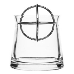 Sphere Small vase, Dia10 x 13.5cm, stainless steel