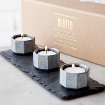 Candle trio 30 x 10cm