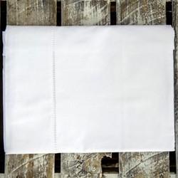 Loire Ladderstitch King size duvet set, 225 x 220cm, white