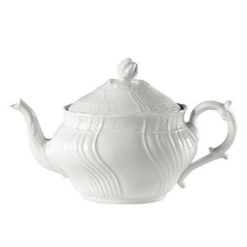 Vecchio Ginori Teapot, 0.87 litre, white