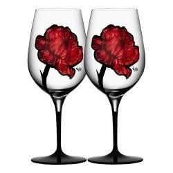 Tattoo Pair of wine glasses, 600ml