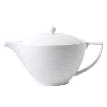 Jasper Conran - Strata Teapot, 1.2 litre, white