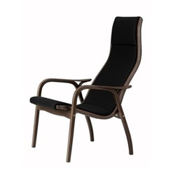 Lamino Chair, W70 x D78 x H101cm, walnut