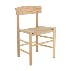 Oregan String dining chair, W48 x H76 x D40cm, oak/natural
