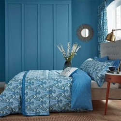 Alyssum King size duvet cover, L220 x W230cm, blue