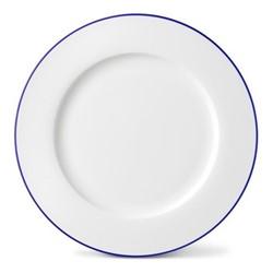 Rainbow Collection Dinner plate, 27cm, lapis lazuli rim