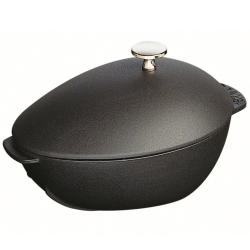Mussel pot, 25cm, black