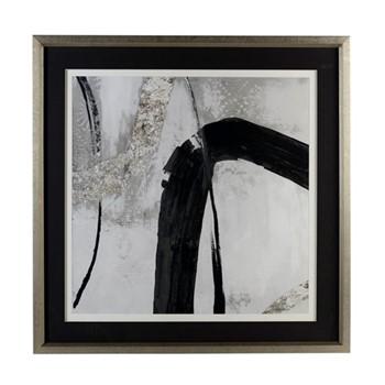 Framed print W107 x H107 x D5cm