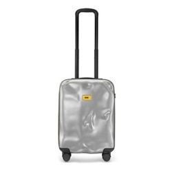 Icon Cabin suitcase, H79 x W50 x D30cm, metal silver
