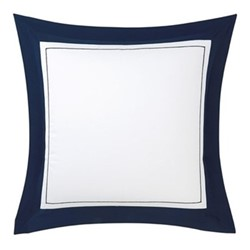 Lutece Square pillowcase, 65 x 65cm, marine