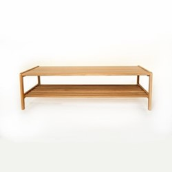 Agnes by Kay + Stemmer Coffee table, W120 x D60 x H35cm, oak