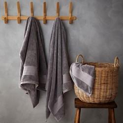 Egyptian Cotton Bath sheet, 100 x 140cm, charcoal