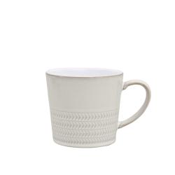 Natural Canvas Large mug, 30cl, Textured