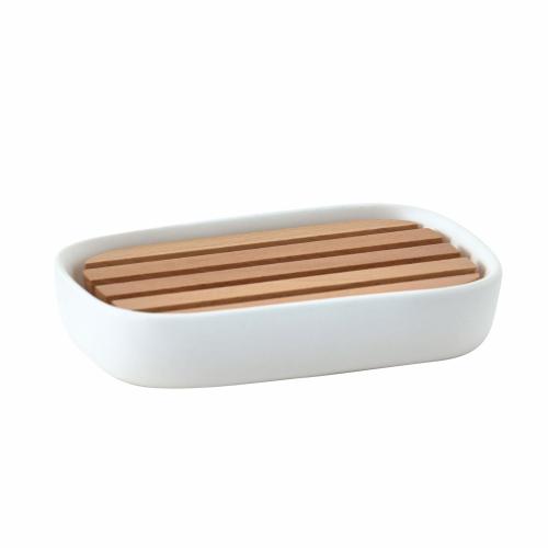 Oscar Soap dish, white