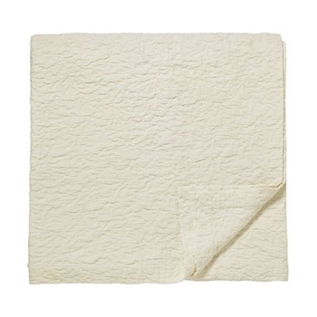 Manderley Matelasse Throw, L260 x W240cm, parchment
