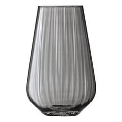 Zinc Vase, H28cm, sheer zinc