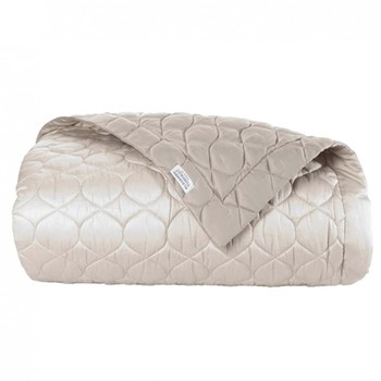 Montaigne Bed cover, L240 x W260cm, gazelle / mink