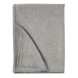 Suo Throw, 200 x 145cm, soft grey/stone brown