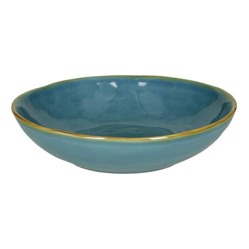 Concerto Set of 4 soup plates, Dia21cm, Blue
