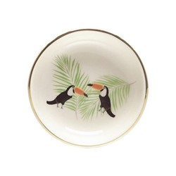 Toucan Ring plate, D9cm, green