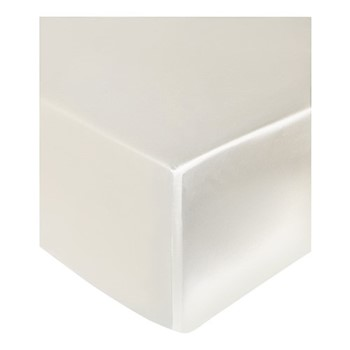 Signature Super king size fitted sheet, 180 x 200 x 35cm, ivory
