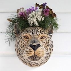 Leopard Wall vase, L14 x D17 x H18cm