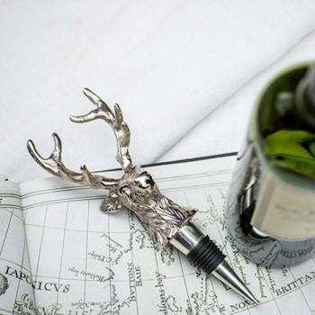 Stag bottle stop H20 x W7 x D5cm