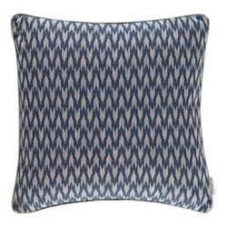 Linnean Weaves - Hutton Cushion, 50 x 50cm, midnight blue