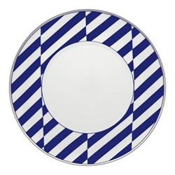 Harvard Dessert plate, 23cm, blue