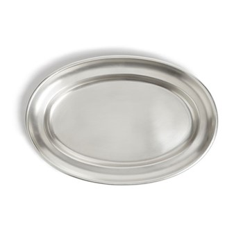 Audley Large oval platter, silver plated