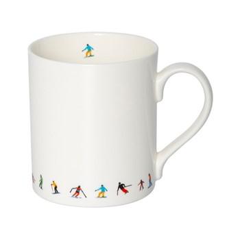 Ski Chain Mug, H9.5 x W10.5 x D8.5cm - 35cl, multi