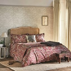 Bullerswood King size duvet cover, L220 x W230cm, paprika
