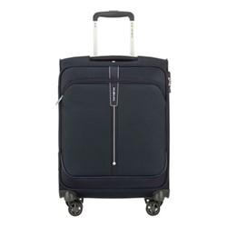Popsoda Spinner suitcase, 55 x 40 x 20cm, dark blue