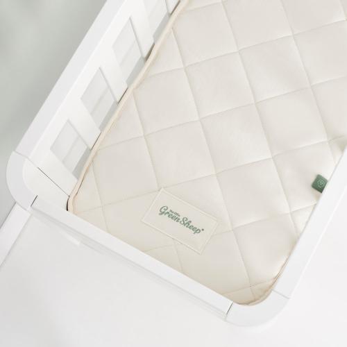 SnuzPod3 Crib mattress, H3 x W44 x L80cm, Natural