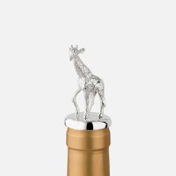 The Highland Safari Collection Stopper, D5 x H8cm, giraffe