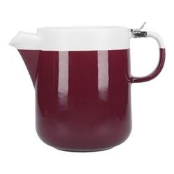 Barcelona Teapot, 1.2 litre, plum