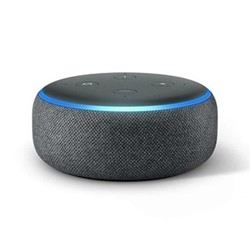 (2018) Echo Dot smart speaker, charcoal