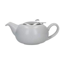 Pebble 2 cup teapot, H7 x D12cm, light blue