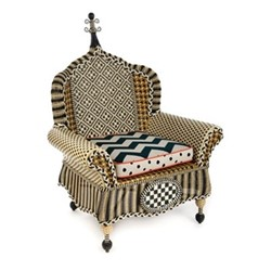 Courtyard Outdoor wing chair, W101.6 x L137.16 x H139.7 x W86.36cm, multi