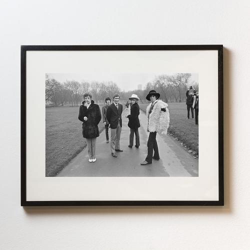 Park Stones Framed photograph, H56 x W71cm